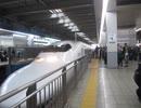 700系のぞみ182号 博多駅入線