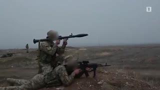 アルメニア陸軍特殊部隊の戦闘訓練