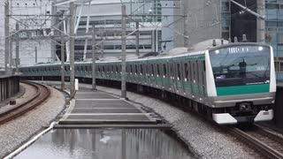 北与野駅(JR埼京線)を通過・発着する列車を撮ってみた