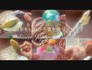 ASMR お供えの落雁と、夏休みの雑貨とお菓子 ミニケースの蓋・ガラス・氷の音 音フェチ