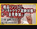 『粗品ツッコミ!マツモトクラブ泥酔状態でR-1会見参加』についてetc【日記的動画(2019年11月28日分)】[ 242/365 ]
