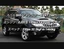 SUV 1.5〜2.0L過給器付クラス 0-100km/h加速まとめ part1