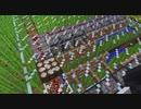 【08】【Minecraft生放送】顔自作メイドの霊夢、魔理沙、てんこを連れてふらつく