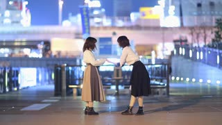【冬紀と帆夏】踊れオーケストラ 踊ってみた【2人アレンジ】