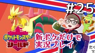 【新ポケ縛り】ポケットモンスターソード・シールド実況プレイ#25【ポケモン剣盾】