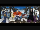 【MMD刀剣乱舞】エンヴィキャットウォーク【陸・三・小狐・長・和・太】