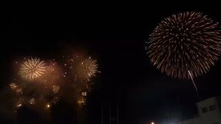 2019.12.3 (埼玉)秩父夜祭 虹のスターマイン (金)