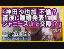 『神田沙也加 不倫?直後に離婚発表!ジャニーズJr.と交際?』についてetc【日記的動画(2019年12月04日分)】[ 248/365 ]