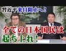 【反対署名を!】習近平来日阻止へ!全ての日本国民は起ち上れ![桜R1/12/10]