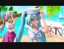 【MMD】Sunny Days!【初音ミク&重音テト】