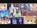 【咲-saki-】部長とキャップが思い浮かんだ曲で勢いで作った紙芝居