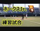 帆足和幸監督率いるホークスJr.の練習試合を直撃してみた!!