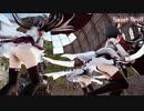 【MMD艦これ】金剛4姉妹でSweet Devil Colate Remix ミニスカローアングルVer 歌詞つき