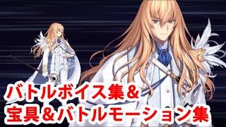 Fate/Grand Order キリシュタリア・ヴォーダイム バトルボイス&バトルモーション集(スキル、宝具等)