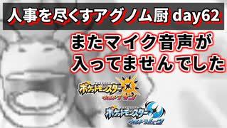 【ポケモンUSUM】人事を尽くすアグノム厨-day62-【ウルトラ・ハイパー・スーパー超簡易編集】