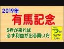 【2019年・有馬記念】5枠が来れば必ず利益が出る買い方