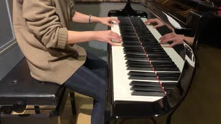 マリオストーリーのピーチ姫のテーマをピアノで弾いてみた