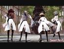 【MMD艦これ】金剛4姉妹でSweet Devil Colate Remix ニーソガーターVer 歌詞つき