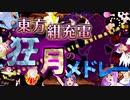【チャー研合作】東方紺充電 狂月のメドレー ~Legacy of Lunatic Animation~