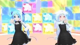 【MMD】ちびSnow2人で ♪ 可愛くなりたい ♪ [1080P60fps]