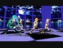 【MMD】ミク、グミ、イア、リン、レンで一騎当千 1080P60