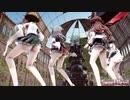 【MMD艦これ】金剛4姉妹でSweet Devil Colate Remix 生足ローアングルVer 歌詞つき