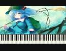ピアノ 「神々が恋した幻想郷」  ノスタルジアver      アレンジ:Cororo