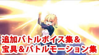 Fate/Grand Order アルトリア・ペンドラゴン 追加バトルボイス集&再リニューアル版宝具&スキル&全バトルモーション集(1/1追加分)