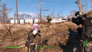 【fallout4】MOD武器で強化されたゆかりさんがレイダーを狩りにいく(結月ゆかり実況)
