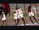 【MMD艦これ】金剛4姉妹でSweet Devil Colate Remix DTを殺すセーターローアングルVer 歌詞つき