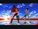 【Fate/MMD】【MMD刀剣乱舞】 No_title 坂本龍馬×陸奥守吉行