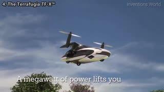 未来を征する飛行車5種に瞠目せよ!