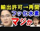 韓国の反応『フッ化水素の輸出許可が再開した~、6か月ぶりだ』と歓喜→脱日本と国産化は?サムスンの利益が…【海外の反応】
