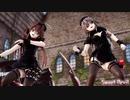 【MMD艦これ】金剛4姉妹でSweet Devil Colate Remix ナースコスプレローアングルVer 歌詞つき