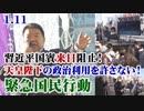 【絶対阻止!】1.11習近平国賓来日阻止!天皇陛下の政治利用を許さない!緊急国民行動[R2/1/14]