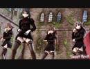 【MMD艦これ】金剛4姉妹でSweet Devil Colate Remix 女教師Ver 歌詞つき