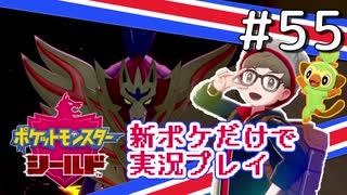 【新ポケ縛り】ポケットモンスターソード・シールド実況プレイ#55【ポケモン剣盾】