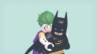 【MMD】レゴバットマンとレゴジョーカーでMAD_HEAD_LOVE