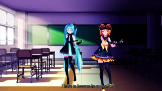 【MMD】Gimme×Gimme~鏡音リン&初音ミク~