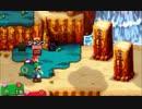 【マリオ&ルイージRPG 1DX】 回避禁止で低レベルクリア Part2 【ゆっくり】