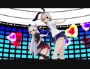 【MMD艦これ】 ハッピーシンセサイザ  by 島風、天津風、連装砲ちゃん、土禁ちゃん、乳製品姉さん