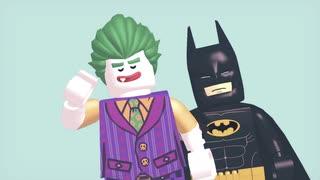 【MMD】レゴバットマンとレゴジョーカーでMAD_HEAD_LOVE 修正版