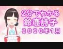 【非公式】2分でわかる鈴鹿詩子2020年1月