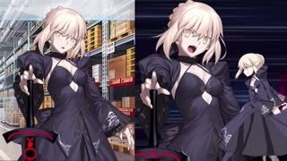 Fate/Grand Order アルトリア・ペンドラゴン〔オルタ〕 追加マイルームボイス&バトルボイス集&再リニューアル版バトルモーション集(2/1追加分)