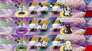 【ゆゆゆい】範囲型勇者の攻撃ペース比較【弥勒蓮華追加】