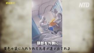 隔離病棟 ・ 武漢の病院 ・ また一人、また一人と ・・・
