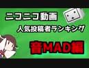 音MAD人気投稿者ランキング【全期間】