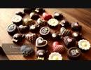 夫が頑張るチョコレート作り Chocolate|小麦粉だいすき