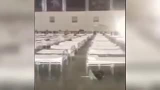 わずか一日で完成 ・ 武漢の隔離施設
