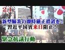 【民間防衛】2.1 新型肺炎の即時厳正措置を!習近平国賓来日阻止!緊急抗議行動 [R2/2/8]